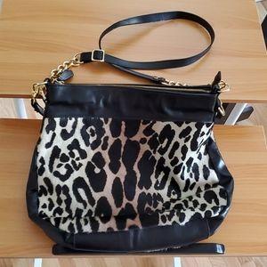 Cavalcanti Leopard Handbag